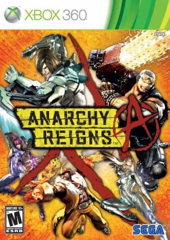 Game Anarchy Reigns para Xbox360 - NOVO