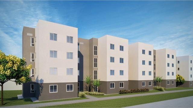 Apartamentos Novos de 2 Quartos em Planaltina DF | Minha Casa Minha Vida Parcelas R$399 - Foto 6