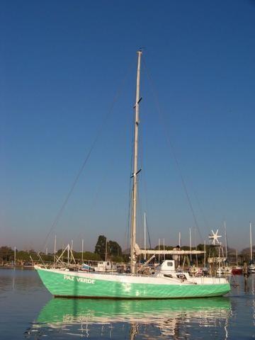 Veleiro Bruce Roberts 36 Pes Aço para mar aberto