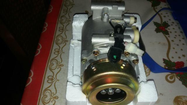 Compressor do ar-condicionado da pajero sport