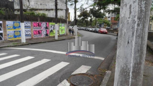 Terreno à venda, 420 m² por R$ 750.000,00 - Vila Matias - Santos/SP - Foto 10