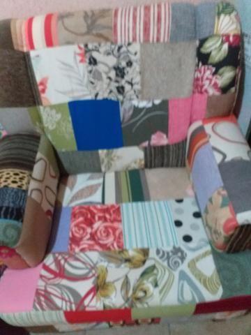 Poltrona grande de tecido - Foto 2