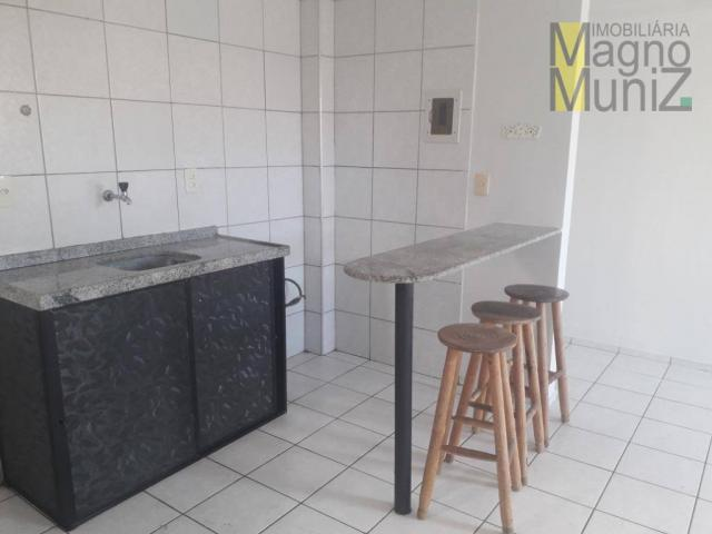 Apartamento com 1 dormitório para alugar, 39 m² por r$ 780/mês - centro - fortaleza/ce - Foto 7