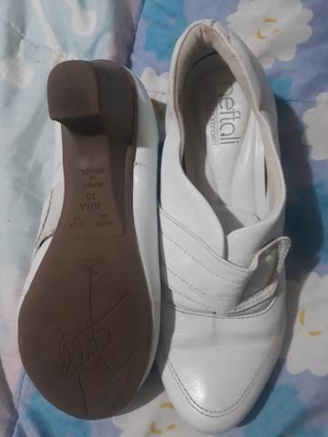 Sapato branco neftali clinic confort - Foto 3