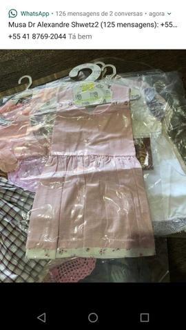 Lote de roupas novas, infantil menina $250 - Foto 4
