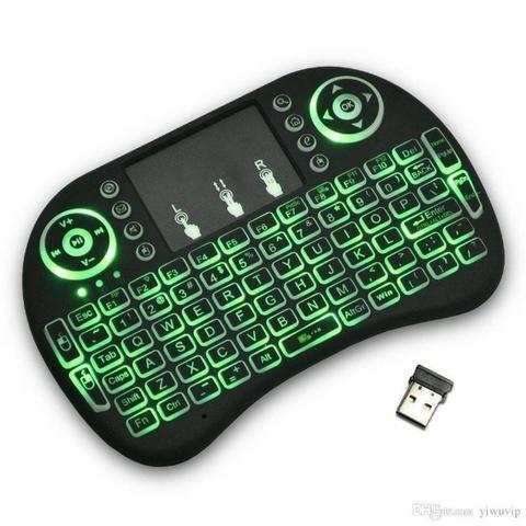 Mini Teclado Mouse Usb Wireless Touch Game Smart Tvbox Pc - Foto 2