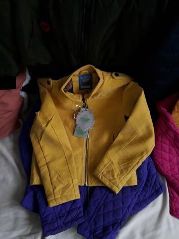 Lindas blusas sobretudo, casaco, jaqueta na promoção para o dia a dia - Foto 6