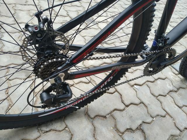 Bicicleta nova alumínio byorn nota fiscal enviamos pra tudo Brasil - Foto 5