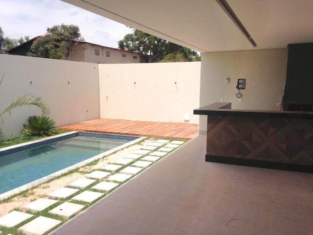 Excelente casa moderna de alto padrão em rua 05 Vicente Pires - Foto 9