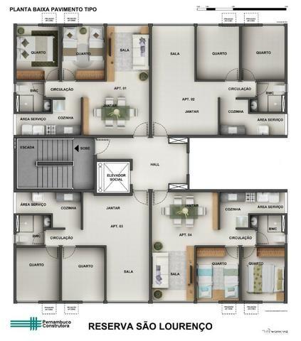 Apartamento pronto pra morar na reserva são lourenço parcela menor que aluguel - Foto 16