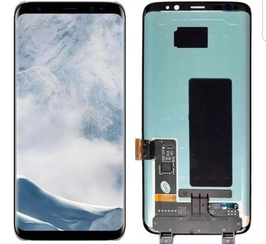 Tela Frontal Display Lcd Touch Original S8 Sm-g950