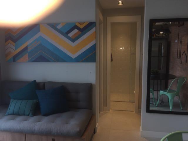 Apartamento sala e quarto varanda com infraestrutura - Foto 13