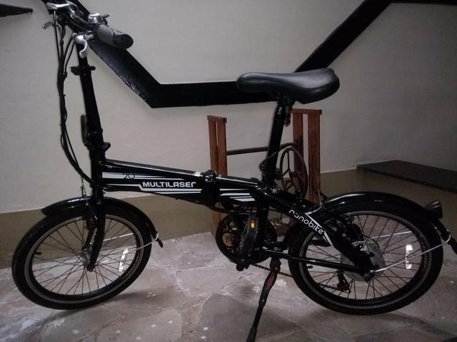 Bicicleta Elétrica Dobrável - Foto 2