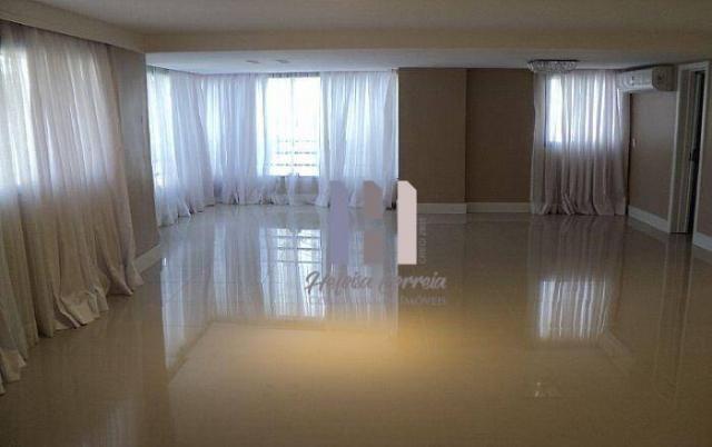 Apartamento com 4 dormitórios para alugar, 208 m² por r$ 4.500,00 - petrópolis - natal/rn - Foto 3