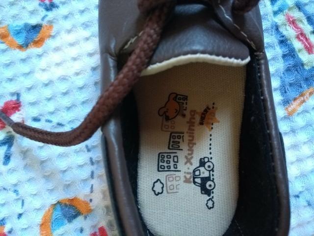 Sapato bebê tamanho 18 - Foto 3