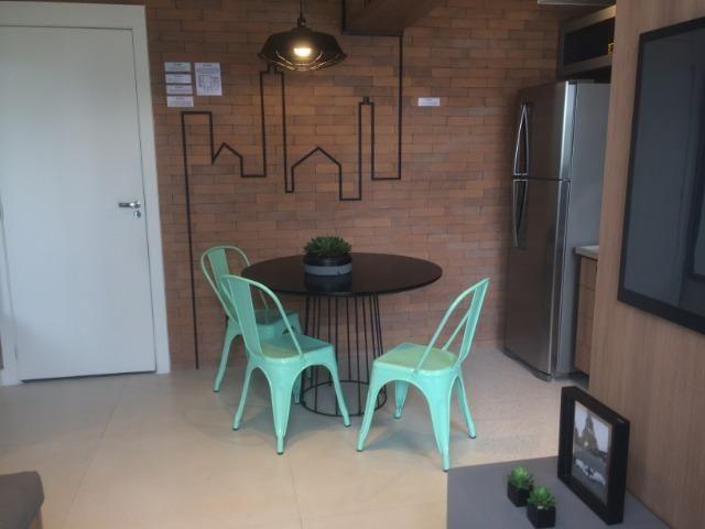 Apartamento sala e quarto varanda com infraestrutura - Foto 5