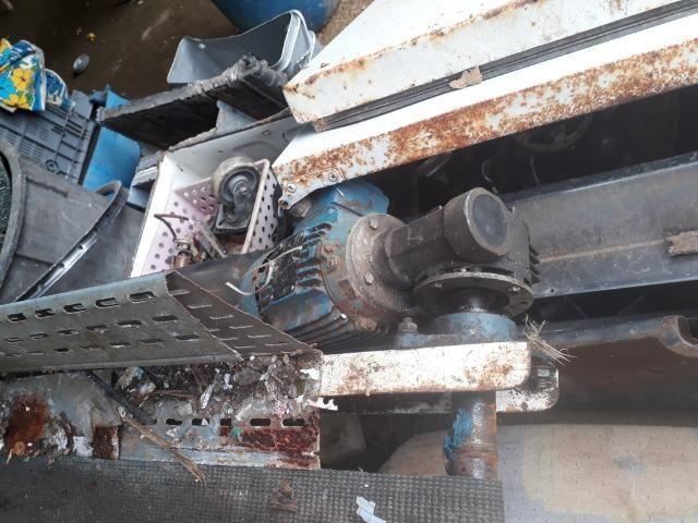 Esteira de triagem de reciclagem - Foto 2