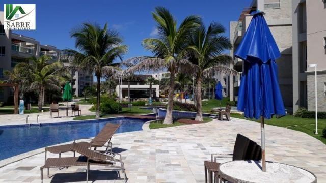 Apartamento beira mar 2 quartos fortaleza-ce. riviera beach place - Foto 4