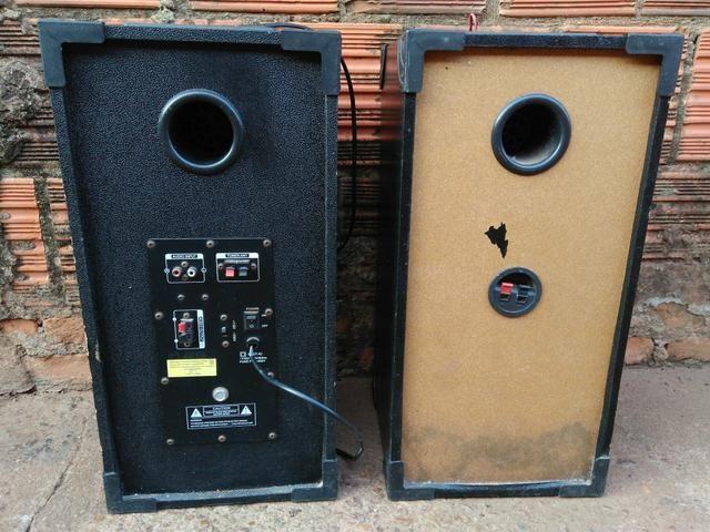 Vendo caixas de som ativa e passiva TRC 200w - Foto 2