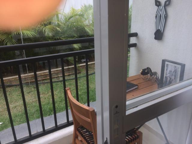 Apartamento sala e quarto varanda com infraestrutura - Foto 4