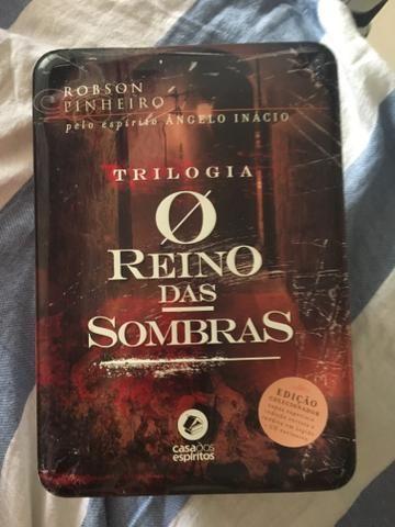 Robson Pinheiro - Box Trilogia O Reino das Sombras - Edição de colecionador