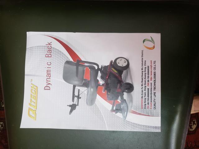 Cadeira de rodas pouquíssimo usada - Foto 4