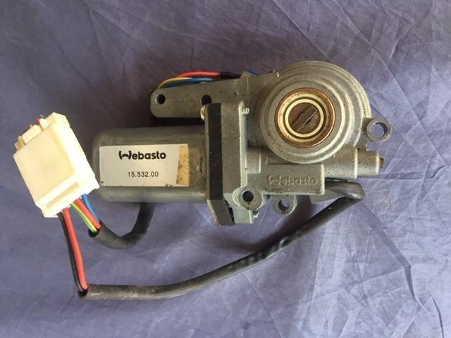 Motor original do teto solar do Fiat Coupé