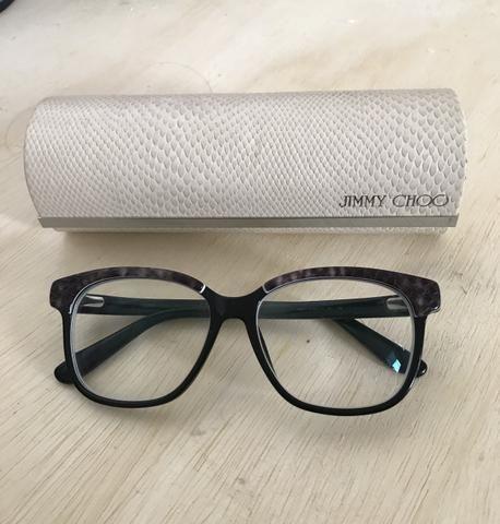 Armação de Óculos Jimmy Choo ORIGINAL - Bijouterias, relógios e ... 6aadb4db37