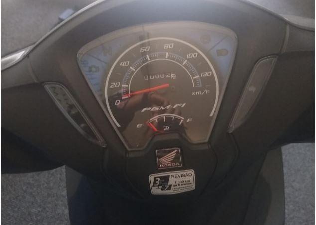 Honda Biz 110i Nunca Usada 0 Km Cinza Metálica 19/19 - Metrô Brigadeiro