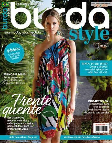 a76337d29 Revista Burda - Lote 5 Unidades + 1 Moda Moldes + 1 molde cia ...