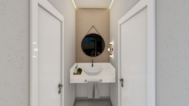8445 | Casa à venda com 3 quartos em Jardim Cristhais 2, Dourados - Foto 4