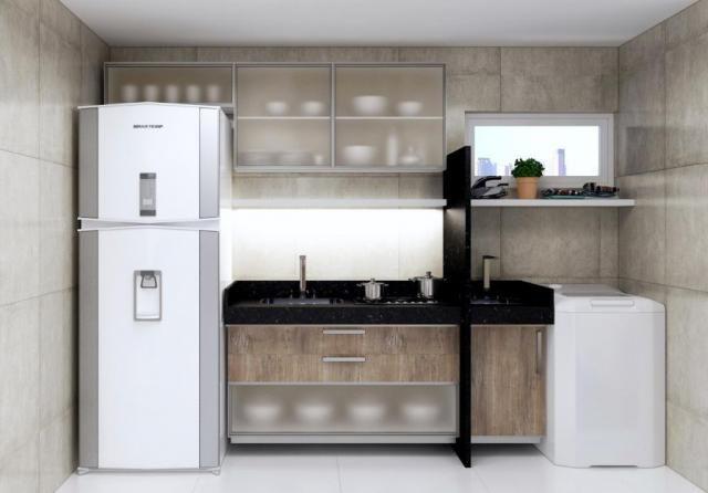 Apartamento com 2 dormitórios, 55 m² - venda por R$ 218.368,57 ou aluguel por R$ 1.100,00/ - Foto 2