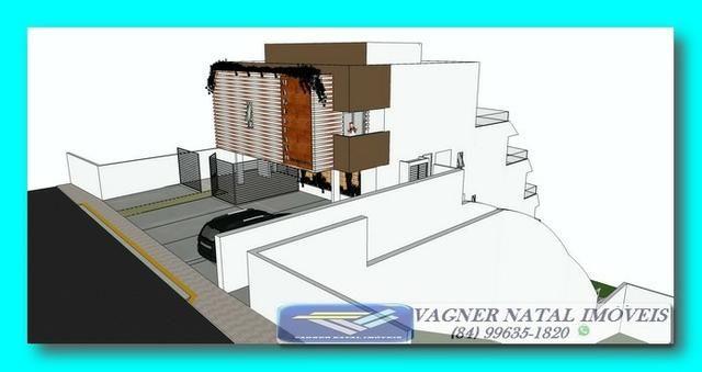 VR-Projeto Aprovado Pé na Areia ao Lado do Morro do Careca em Ponta Negra - Foto 2