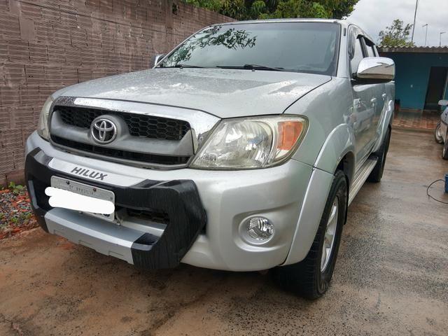 Toyota Hilux 2.5 turbo 4x4 diesel - Foto 4