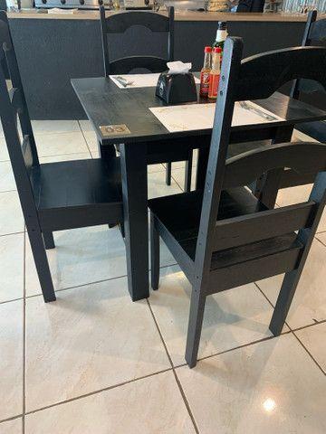 Jogo de mesa e cadeiras  - Foto 6