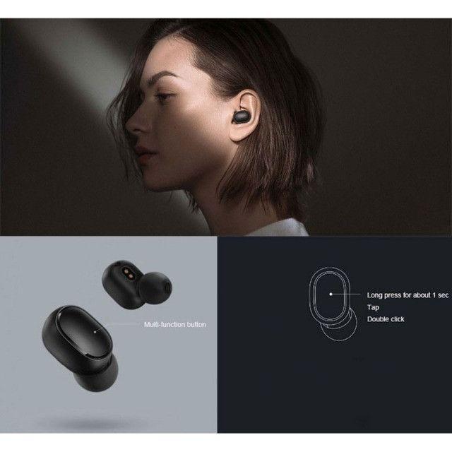 Fone De Ouvido sem fio Bluetooth Xiaomi Redmi Airdots - Primeira Linha - Foto 5