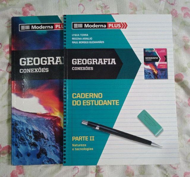 Box - Livros de Geografia - Ensino Médio (volume único) - Foto 3