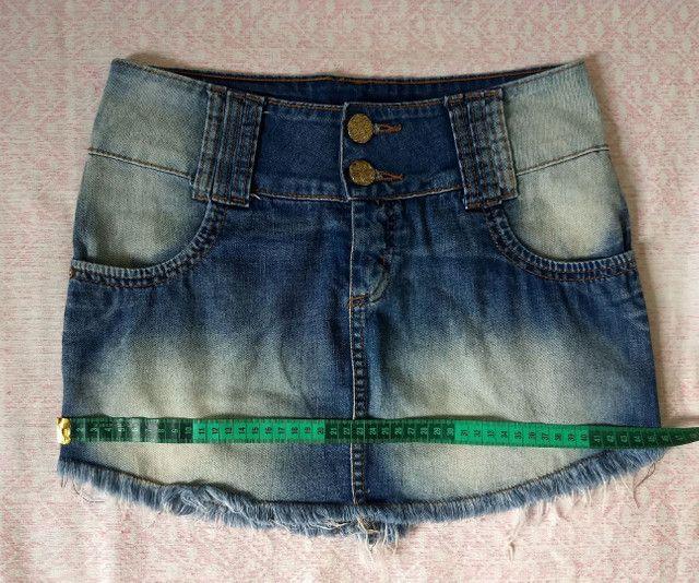 Saia jeans oppnus - Foto 3