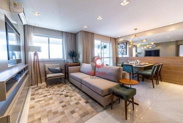 Apartamento com 2 dormitórios à venda, 63 m² por R$ 310.000,00 - Glória - Macaé/RJ - Foto 8