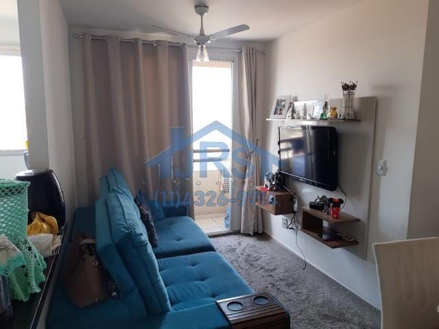 Apartamento com 2 dormitórios à venda, 50 m² por R$ 265.000,00 - Vila Mercês - Carapicuíba