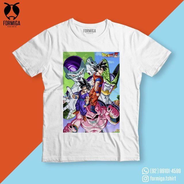 Camisa Dragon Ball Anime Geek - Foto 3