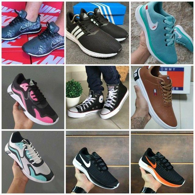 Vendo tênis Ñike e outros modelos ( 110 com entrega)