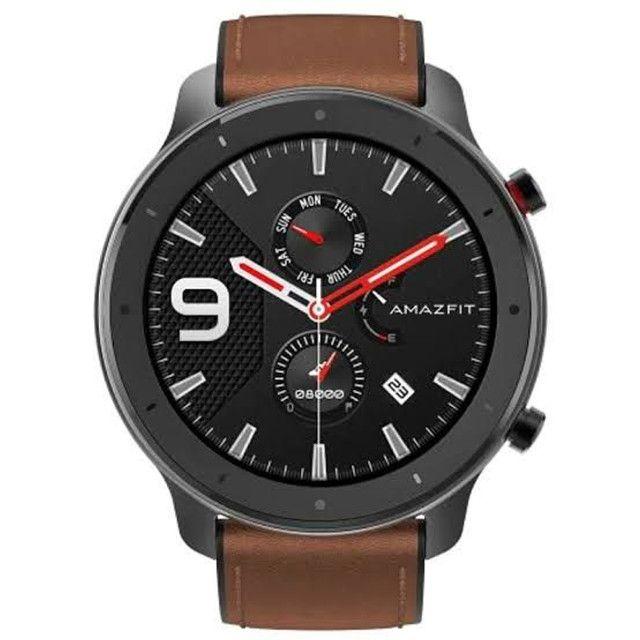 <br><br>Relógio Amazfit Gtr - Aluminium<br><br>