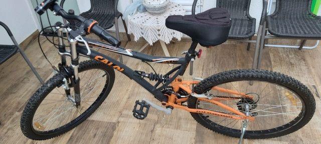 Bicicleta caloi aro 26 semi nova - Foto 5