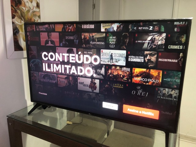 """Smart TV LG 50"""" inteligência artificial WebOS completa com nota fiscal  - Foto 4"""