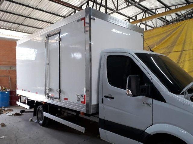 bau refrigerado remanufaturado com garantia instalado no seu caminhão  - Foto 4