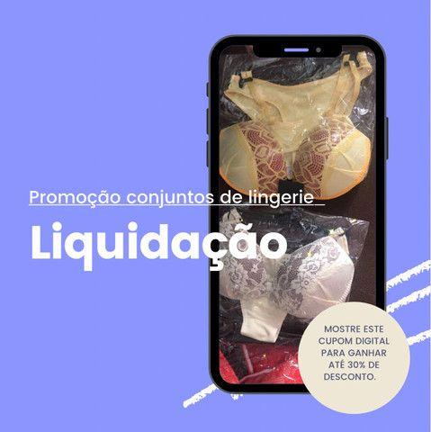 Lindos conjuntos de lingerie em promoção