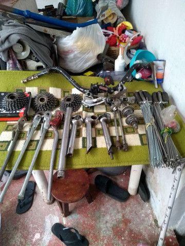Peças de bicicleta antigas... - Foto 3