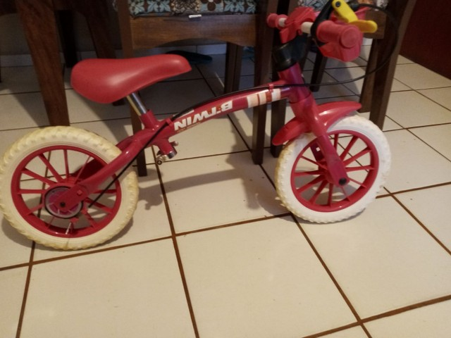 Bicicleta infantil equilíbrio sem pedal
