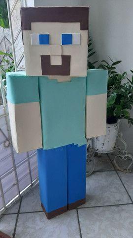 Boneco do Minecraft - Foto 2
